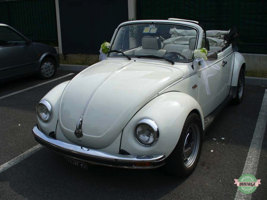 Maggiolone Cabrio Bianco