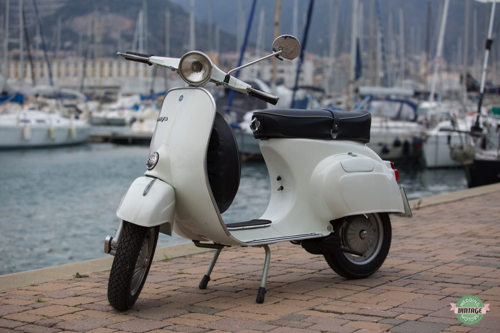 vespa 125 primavera 1976 wedding vintage motors. Black Bedroom Furniture Sets. Home Design Ideas