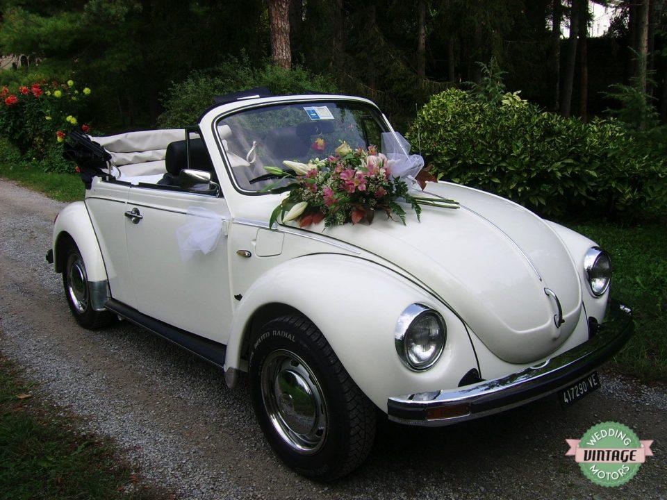 Maggiolone Cabrio Bianco/Neri