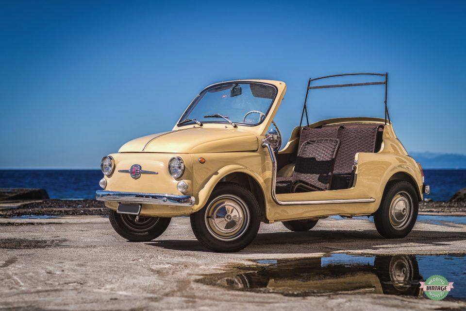 Fiat 500 Spiaggina Gialla