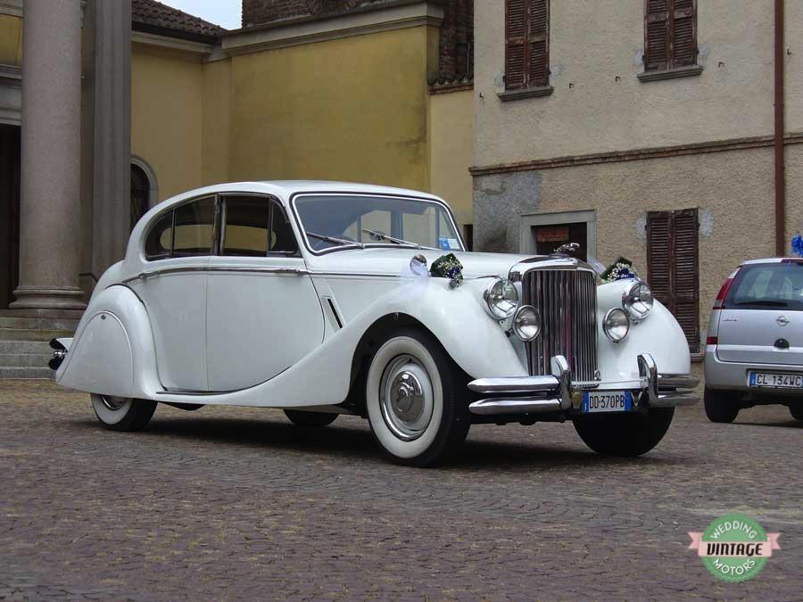 Jaguar MKV Bianco