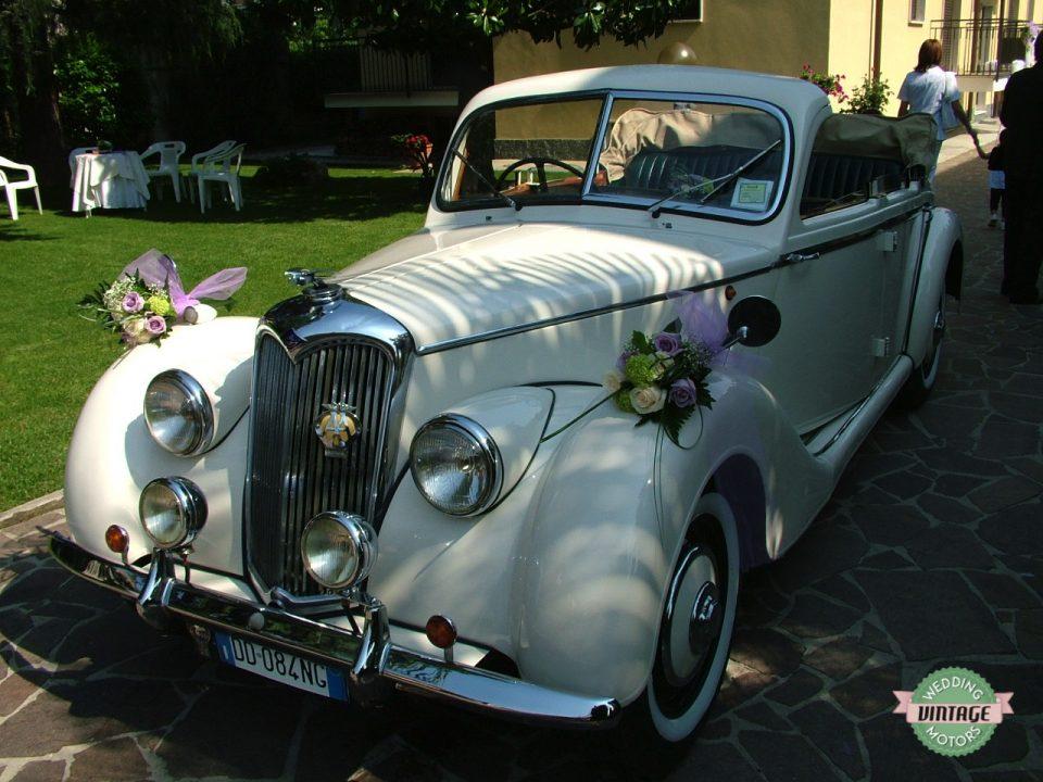 Riley RME Cabrio Bianco