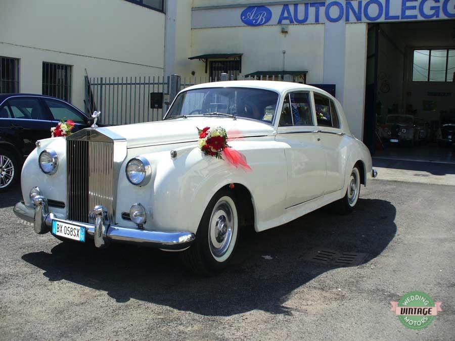 Rolls Royce Silver Cloud Bianco