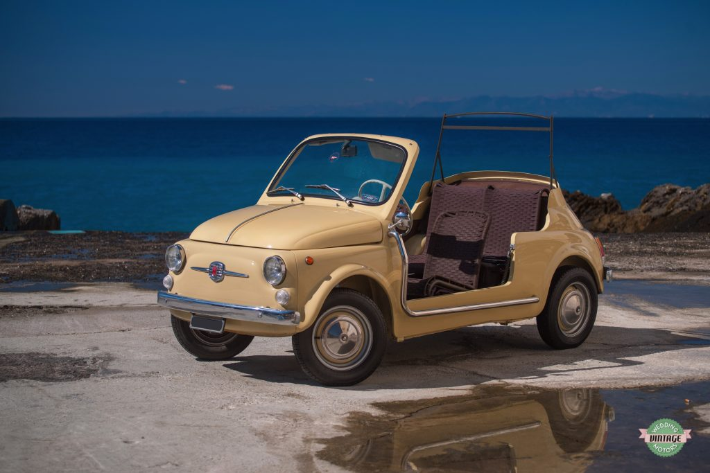 Fiat 500 Spiaggina - Wedding Vintage Motors